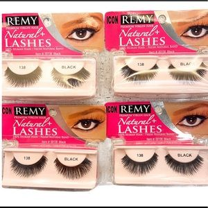 Remy Premium Natural Virgin Human Hair. False Lashes